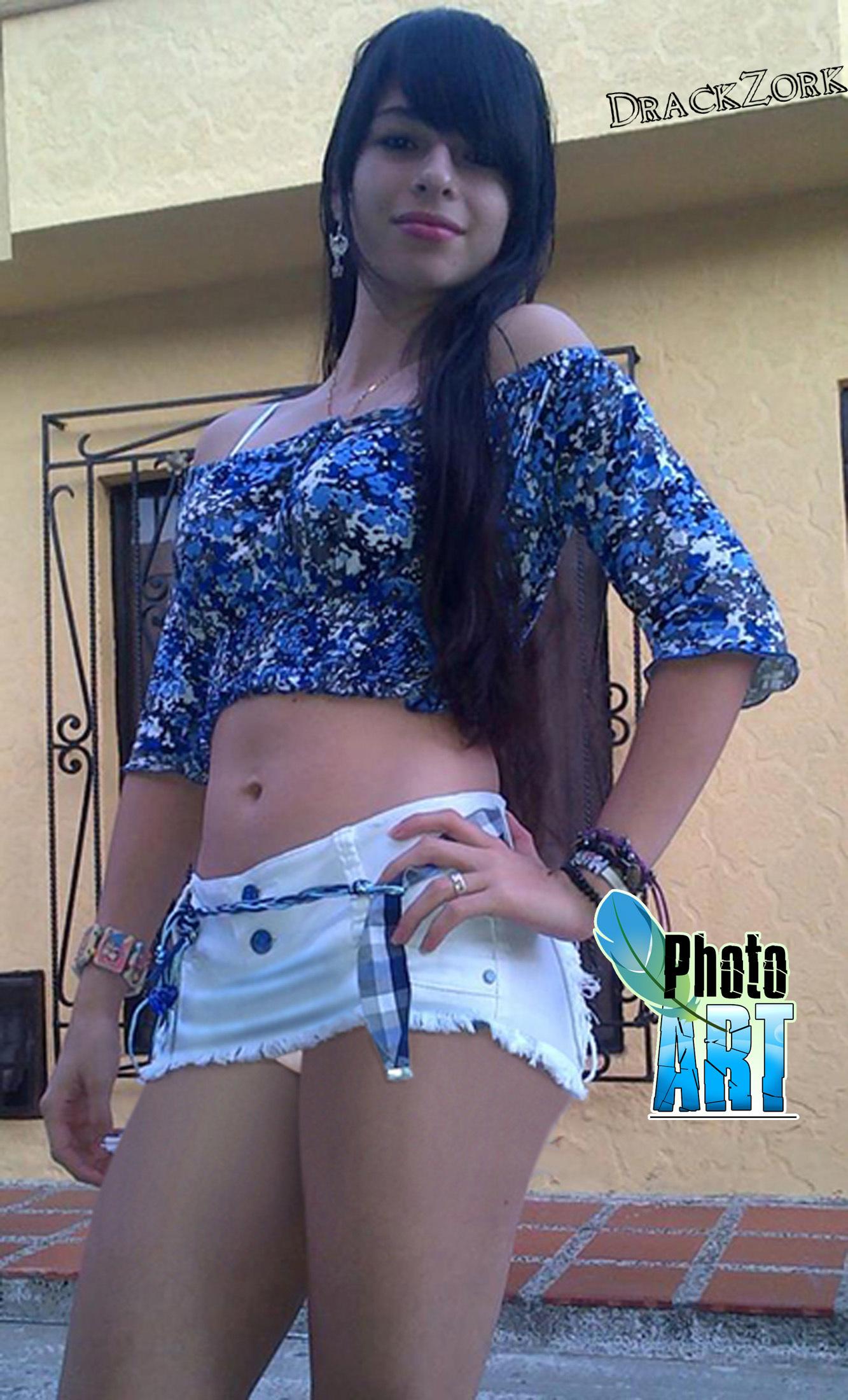 Nena sexy de colombia muestra su blanco cuerpo desnudo - 1 part 5