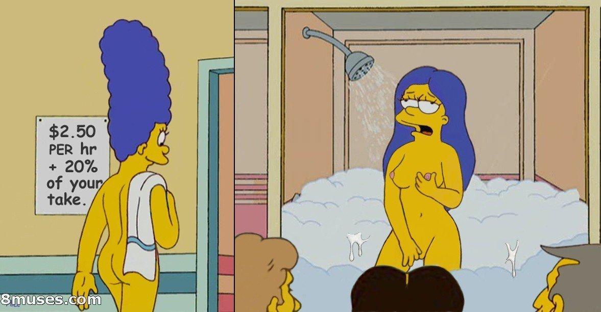 lisa simpson nude shower